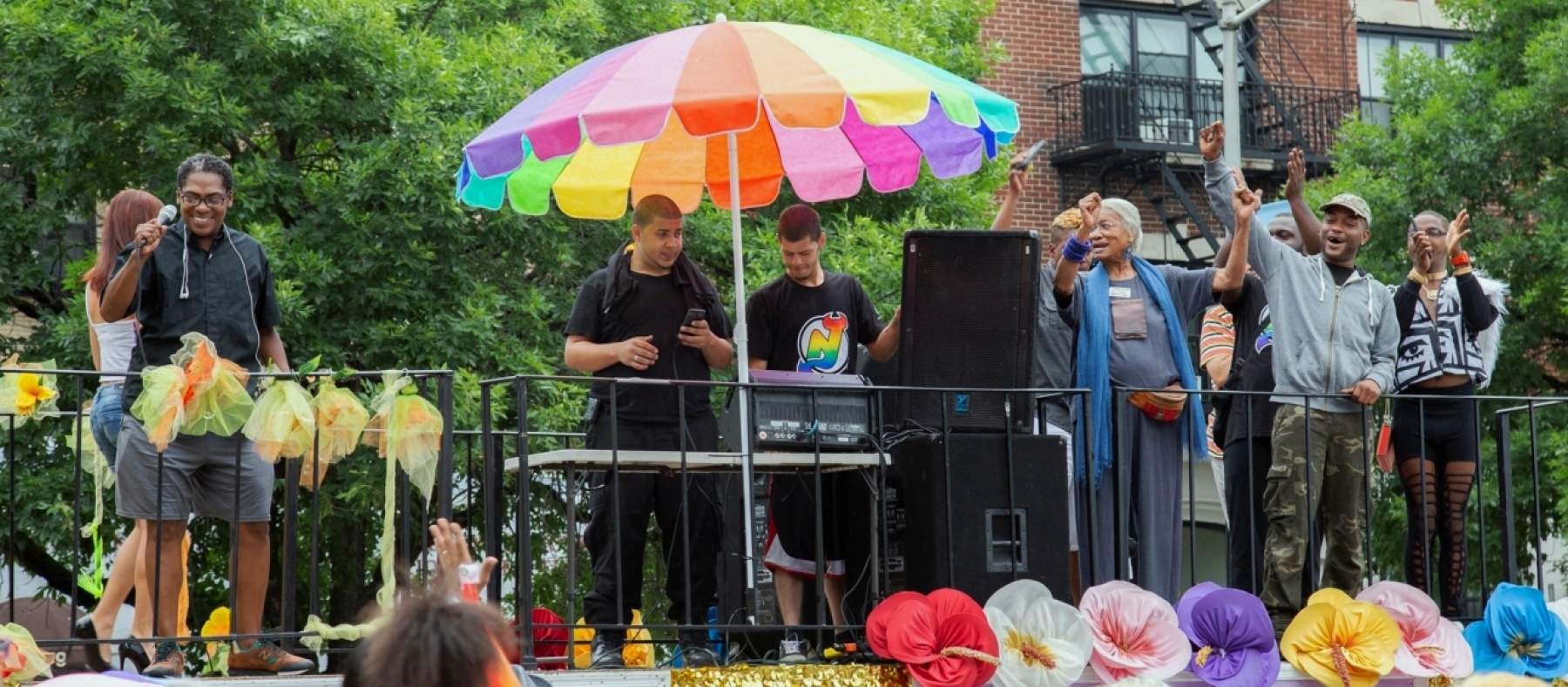 Pride 2018 Float Shelly Edelman
